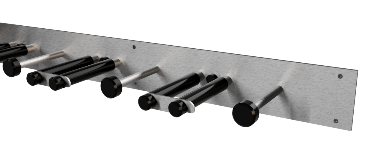 Multi Ski Rack Options (Auto Desk Render)