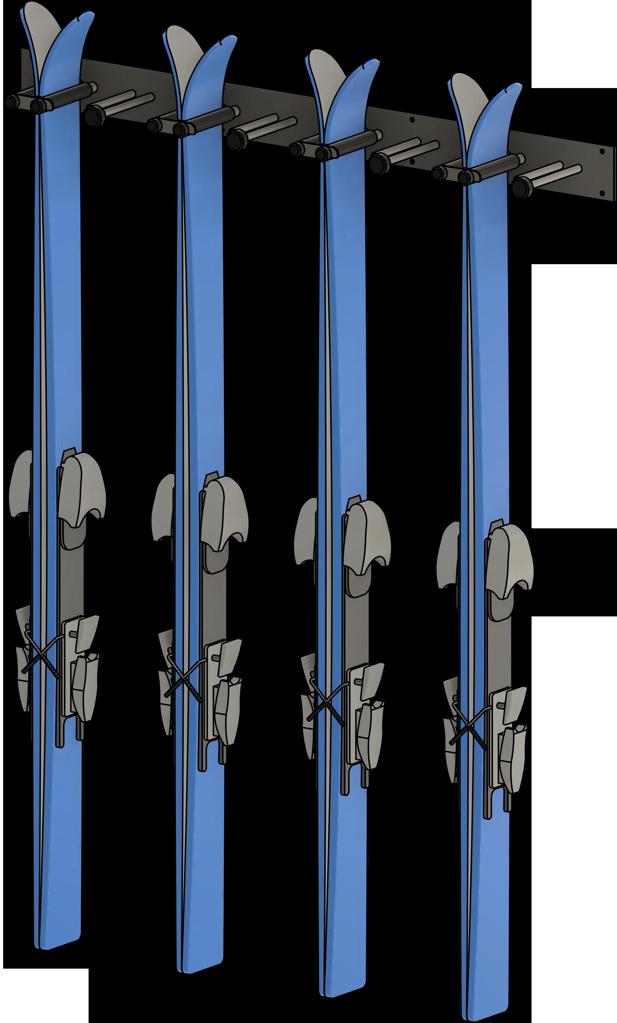 Multi Ski Rack